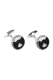 Whimsical wheel cufflinks