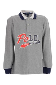 Polo shirt in cotton knit