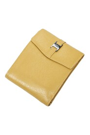 Pre-owned Compact Flap Wallet
