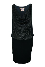 Pre Owned Dress With Sequins
