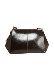 Origami patent leather bag
