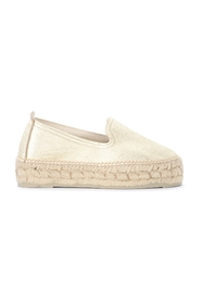Los Angeles espadrilles in laminated leather
