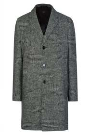 Shawn7 Checked Coat