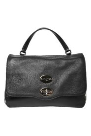 Leather bag with tarcolla