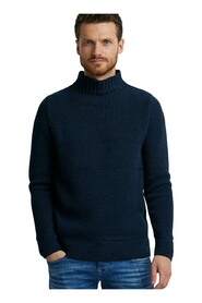 Mock neck  knitwear