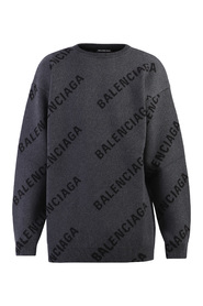 Branded sweater