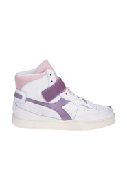 Basket Mid Icona -Paarse Sneakers