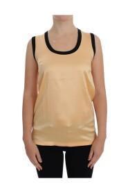 Seta stretch camicetta superiore T-shirt