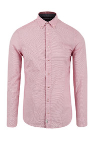 Rød Marco Polo Button Down Skjorte