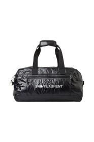 Glossy Logo Duffle Bag