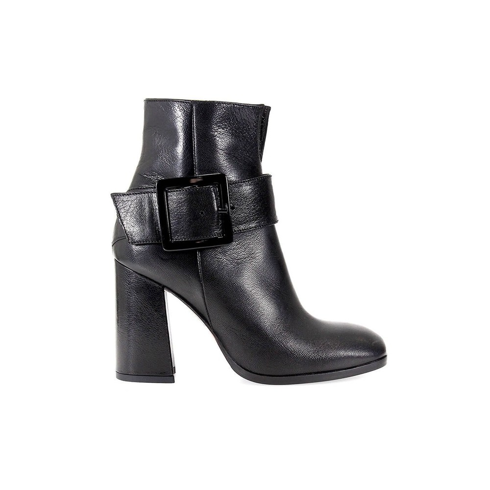 FC529 SIDE ZIPPER ANKLE BOOT