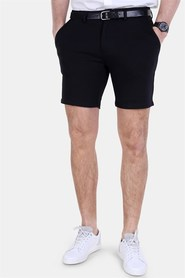 Clean Cut Milano Jersey Shorts Black
