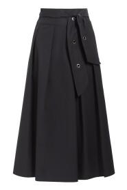 Midi nederdel