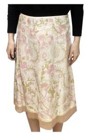 Floral slip skirt