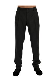 Striped Stretch Formal Pants