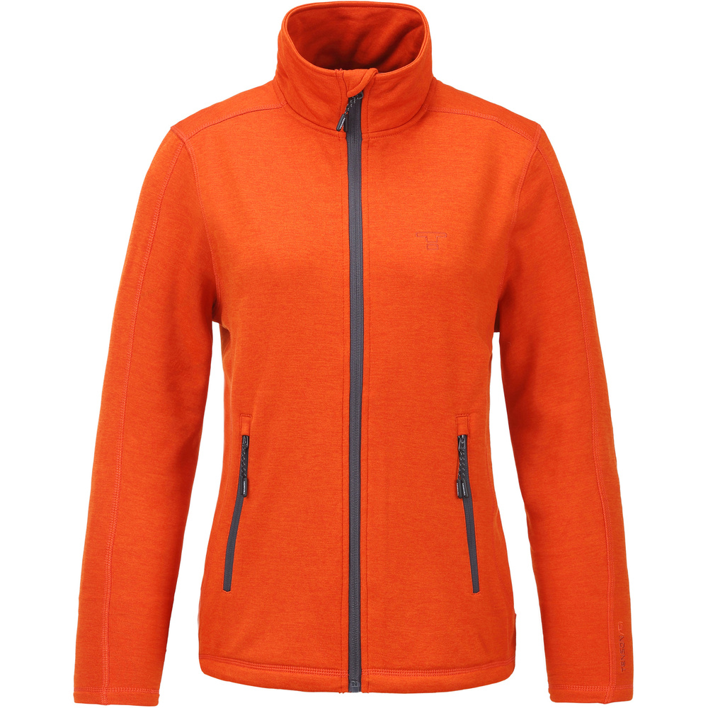 Tenson Lacy Power Comfort Fleece Dam Orange