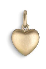 Heart pendant, 18-carat gold