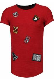 Exclusive Military Patches - T-Shirt