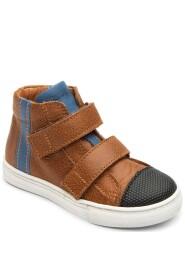 Bundgaard Kids Deni Velcro Shoe Tan Brown