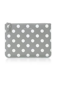 WALLET LARGE DOTS PRINTED LEATHER LINE