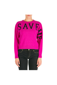 Jumper sweater crew neck round save me