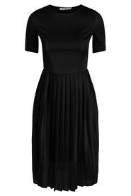 Pleated T Dress