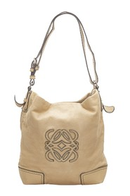 Anagram Leather Shoulder Bag