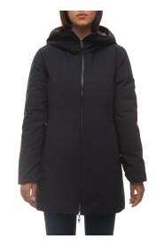 Daisy hooded harrington jacket