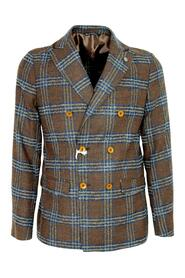 MEN'S JACKET 2710 SLIM FIT DOUBLE-BREASTED CHECK