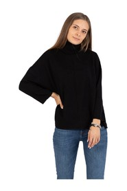 Lightweight wide Identity turtleneck