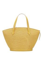 Pre-owned Epi Saint Jacques PM Short Strap Leather