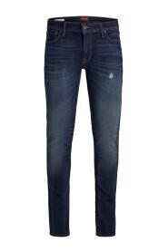 Mørkeblå Jack & Jones Liam Orginal Jos 650 Jeans