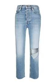 Jeans 70's High Rise Stove Pipe Brisk