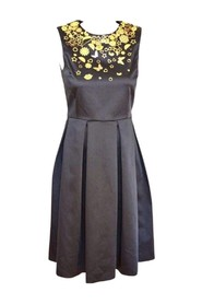 Dress with  Floral Details
