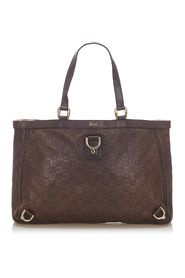 Guccissima Abbey D-Ring Tote Bag Leather Calf