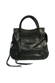 Pre-owned  The Mid Afternoon 168026 Leather Handbag