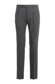 STRETCH PLEATED PANTS