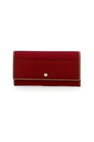 Large wallet with flap