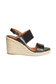 Barano leather wedge sandals