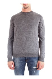 BIKKEMBERGS CSG6110X0046 JERSEY Men GREY