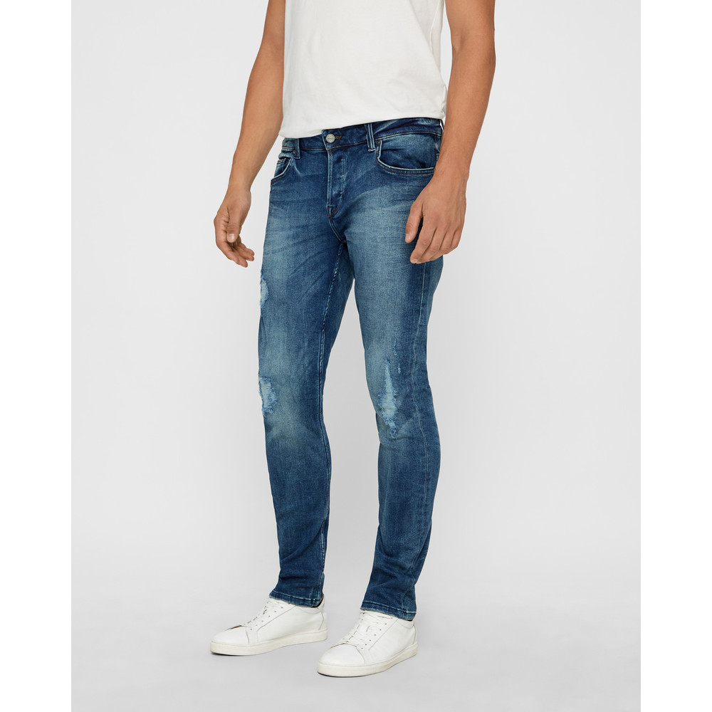 Loom Blue Washed jeans