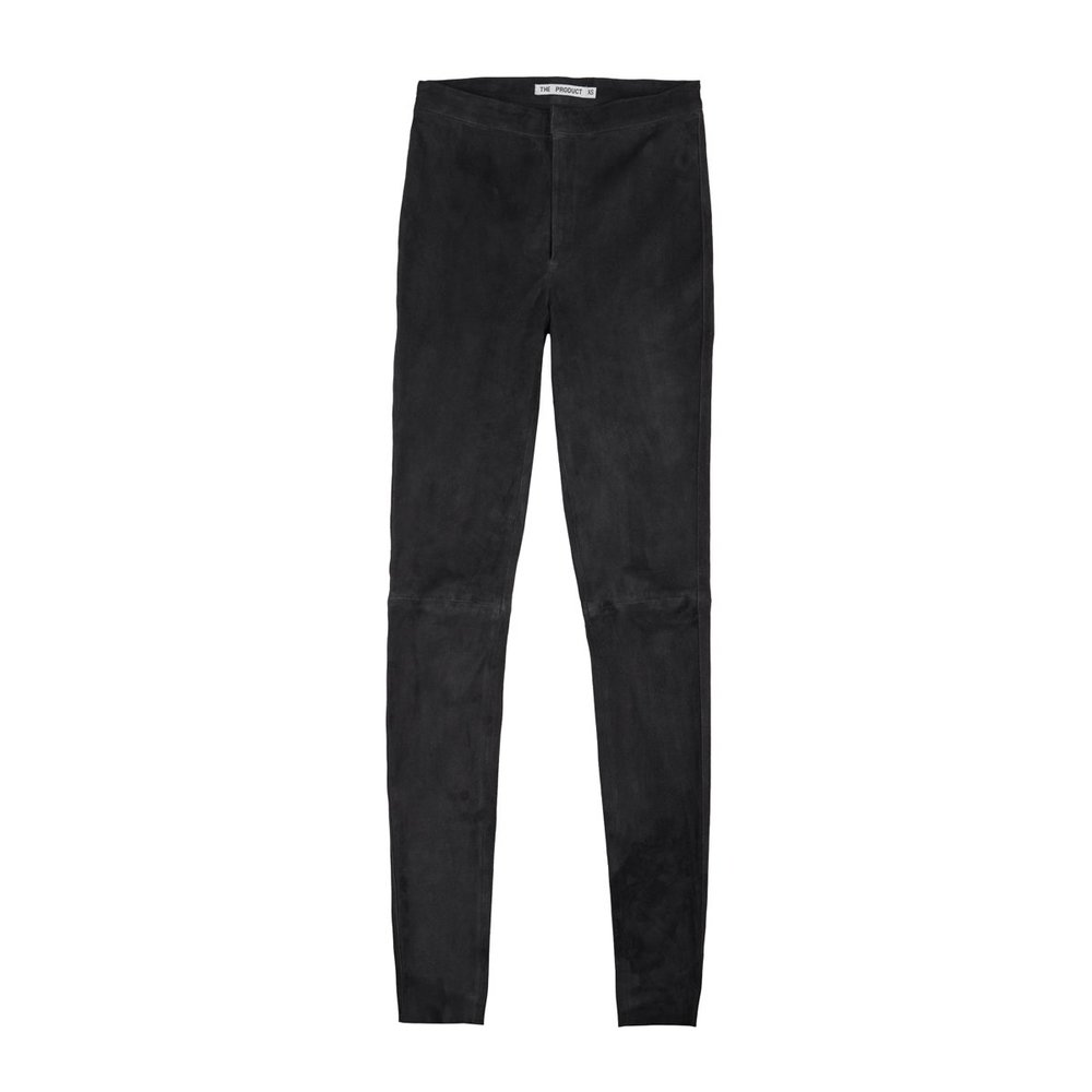 The Product Wmn Suede Pant Bukse