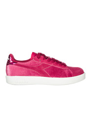 women's shoes suede trainers sneakers game wide chenille
