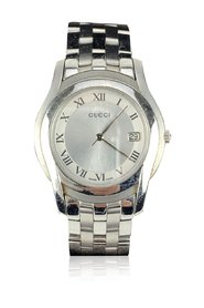 Stainless Steel Mod 5500 M Wrist Watch White Dial