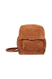 Lulu suede leather backpack