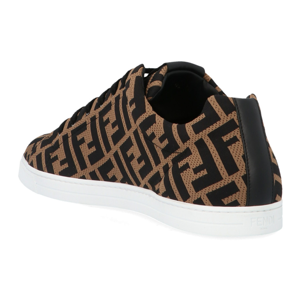 Fendi Brown Sneakers Fendi