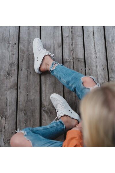 Cloud White Ladera Sneakers | Kastel | Sneakers