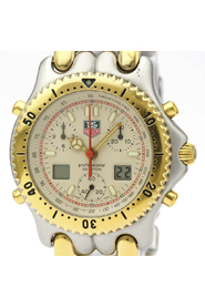 Sel Chronograph Gold Plated Steel Watch CG1123