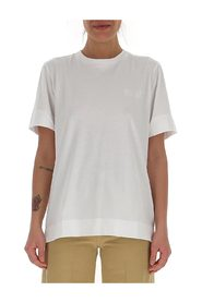 Crew-neck short-sleeve T-shirt