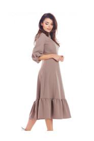 Sukienka midi A345